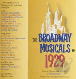 Scott Siegel - Broadway Musicals of 1929 CD Cover Art