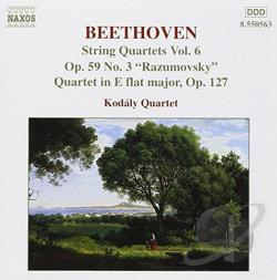 Beethoven / Falvay, Attila / Kodaly Quartet / Szabo - Beethoven: String Quartets, Vol. 6 CD Cover Art