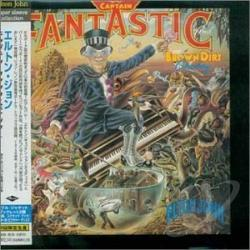 John, Elton - Captain Fantastic And The Brown Dirt Cowboy CD Cover Art