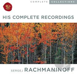 Rachmaninov, Sergei - Rachmaninov: His Complete Recordings CD Cover Art