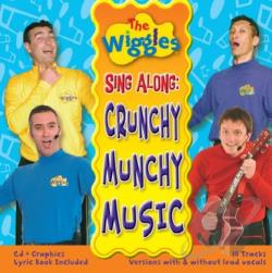 Wiggles - Crunchy Munchy Music CD Cover Art