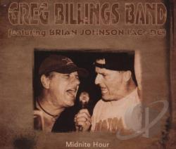 Billings, Greg / Billings, Greg Band - Midnite Hour CD Cover Art