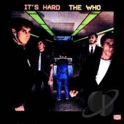 Who - It's Hard CD Cover Art