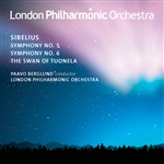 Berglund / Lpo / Sibelius - Sibelius: Symphonies Nos. 5 & 6; The Swan of Tuonela CD Cover Art