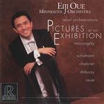 Minnesota Orch / Oue, E:cnd - Ravel Orchestrations: Pictures at an Exhibition CD Cover Art
