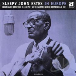 Estes, Sleepy John - In Europe CD Cover Art