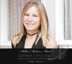 Streisand, Barbra - What Matters Most: Barbra Streisand Sings Lyrics Of Alan & Marilyn Bergman CD Cover Art
