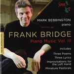 Bebbington, Mark:pno - Frank Bridge: Piano Music, Vol. 3 CD Cover Art