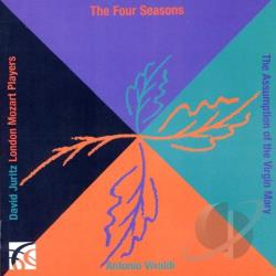 Juritz, David:vln / London Moz - Vivaldi: The Four Seasons CD Cover Art