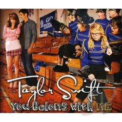 Swift, Taylor - You Belong With Me CD Cover Art