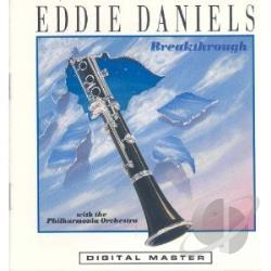 Daniels, Eddie - Breakthrough CD Cover Art