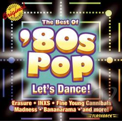 Best of '80s Pop: Let's Dance! CD Cover Art