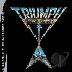 Triumph - Allied Forces CD Cover Art