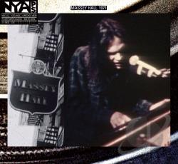 Young, Neil - Live at Massey Hall 1971 CD Cover Art