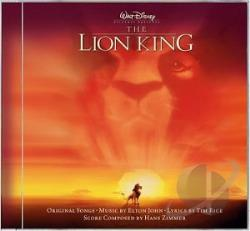 Zimmer, Hans - Lion King CD Cover Art