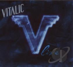 Vitalic - V Live CD Cover Art