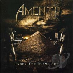 Amenti - Under The Dying Sun CD Cover Art