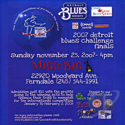 Detroit Blues Challenge 2007 Finals CD Cover Art