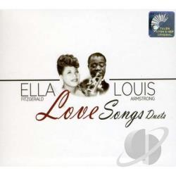 Armstrong, Louis / Fitzgerald, Ella - Love Songs CD Cover Art