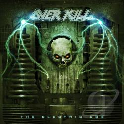 Overkill - Electric Age CD Cover Art
