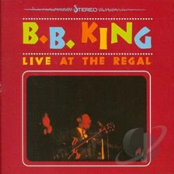 King, B.B. - Live At The Regal CD Cover Art