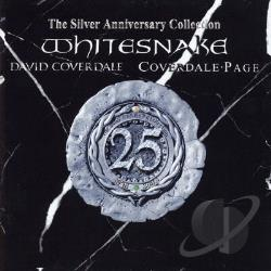 Whitesnake - Silver Anniversary Collection CD Cover Art