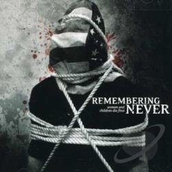 Remembering Never - Women and Children Die First CD Cover Art