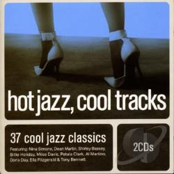 Hot Jazz Cool Tracks CD Cover Art