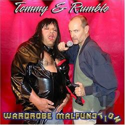 Tommy & Rumble - Wardrobe Malfunction CD Cover Art