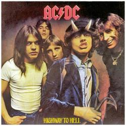 AC/DC - Highway To Hell LP Cover Art