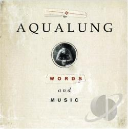 Aqualung - Words & Music CD Cover Art