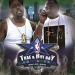 Bay Bay / Trae - King of the Streets & King of the Clubs CD Cover Art