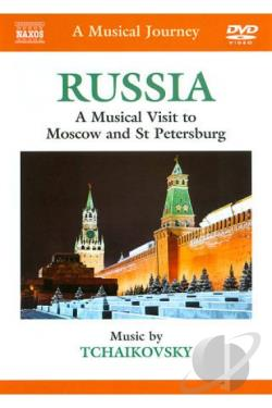 Polish National Radio Sym Orch / Tchaikovsky - Musical Journey: Russia - Moscow & St. Petersburg DVD Cover Art
