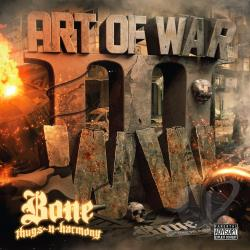 Bone Thugs-N-Harmony - Art of War: WWIII CD Cover Art
