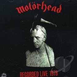 Motorhead - Recorded 1978 CD Cover Art