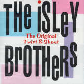 Isley Brothers - Original Twist & Shout CD Cover Art