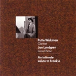 Lundgren, Jan / Wickman, Putte - An Intimate Salute To Frankie CD Cover Art