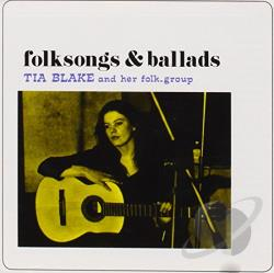 Tia Blake - Folksongs & Ballads CD Cover Art