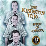 Kingston Trio - Spirit of America CD Cover Art