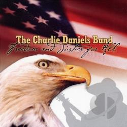 Daniels, Charlie - Freedom and Justice for All CD Cover Art