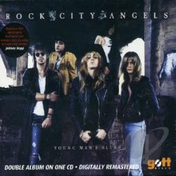 Rock City Angels - Young Man's Blues CD Cover Art