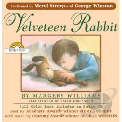 Rabbit Ears / Streep / Winston - Velveteen Rabbit CD Cover Art