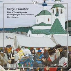 Ivanova / Prokofiev - Prokofiev: Piano Transcriptions CD Cover Art
