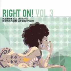 Right On! - Vol. 3 - Right On! LP Cover Art