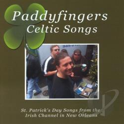 Paddyfingers Celtic Songs - St. Patrick's Day Songs From The Irish Channel In CD Cover Art