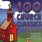100 Church Classics For Kids CD Cover Art