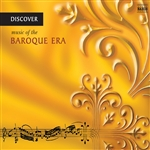 Discover Baroque Music - Discover Music of the Baroque Era CD Cover Art