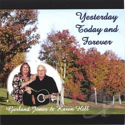 Jones, Garland - Yesterday Today & Forever CD Cover Art