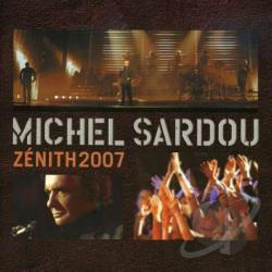Sardou, Michel - Zenith 2007: Live CD Cover Art