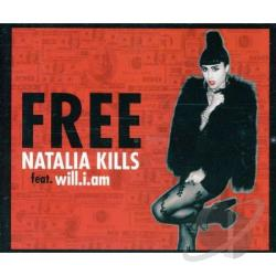 Natalia Kills - Free (2-Track) DS Cover Art